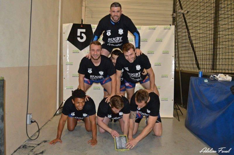 Soirée 4ème Mi temps RugbyAmateur.fr décembre 2017 Le Five Toulouse Colomiers (43)