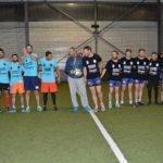 Soirée 4ème Mi temps RugbyAmateur.fr   décembre 2017   Le Five Toulouse Colomiers (45)