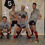 Soirée 4ème Mi temps RugbyAmateur.fr   décembre 2017   Le Five Toulouse Colomiers (50)