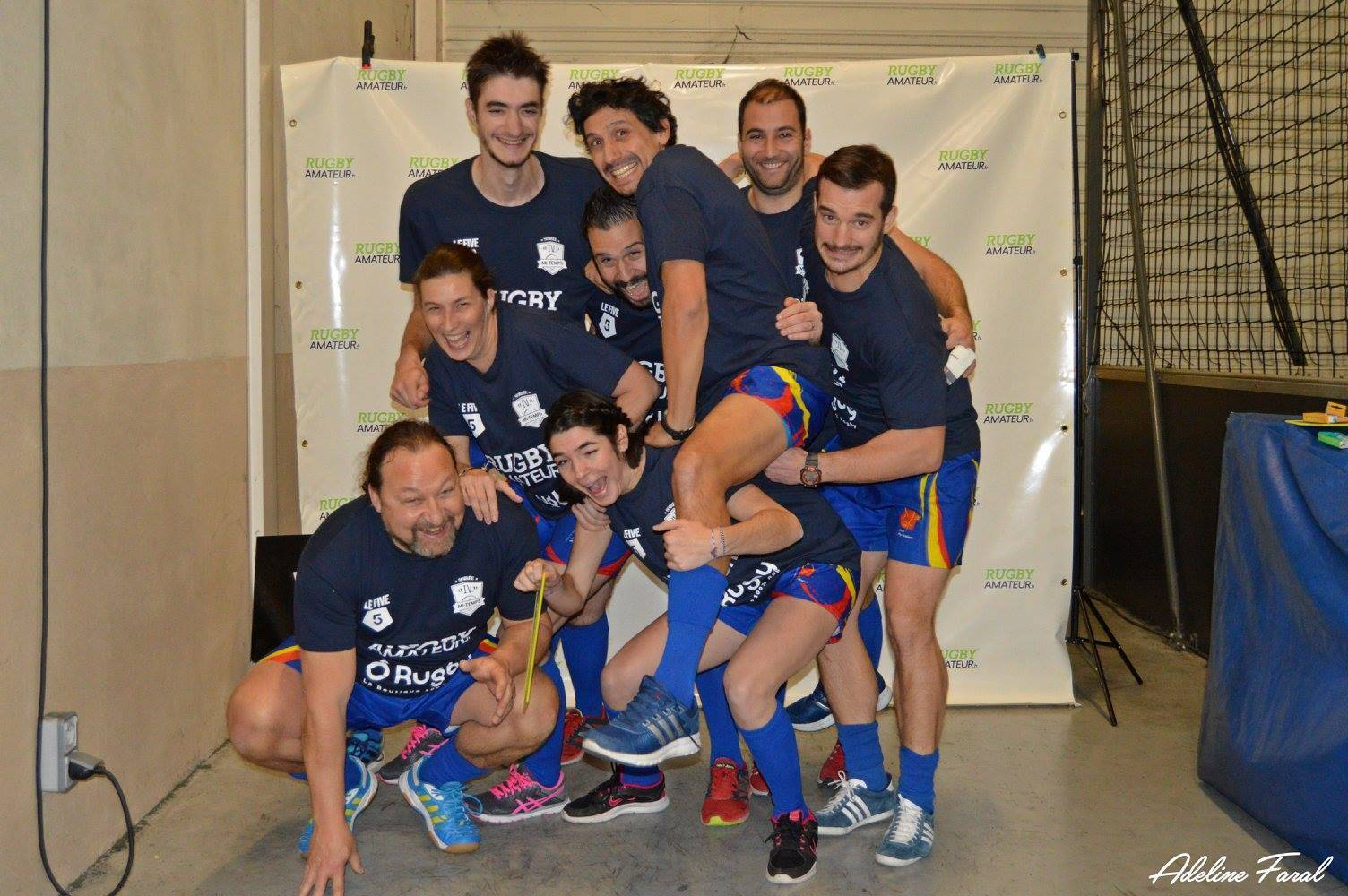 Soirée 4ème Mi temps RugbyAmateur.fr   décembre 2017   Le Five Toulouse Colomiers (1)