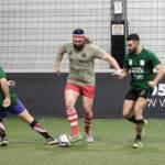 Soirée 4ème Mi temps RugbyAmateur.fr   décembre 2017   Le Five Toulouse Colomiers (95)