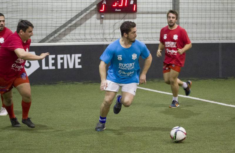 Soirée 4ème Mi temps RugbyAmateur.fr décembre 2017 Le Five Toulouse Colomiers (112)