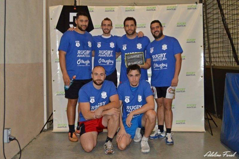 Soirée 4ème Mi temps RugbyAmateur.fr décembre 2017 Le Five Toulouse Colomiers (17)