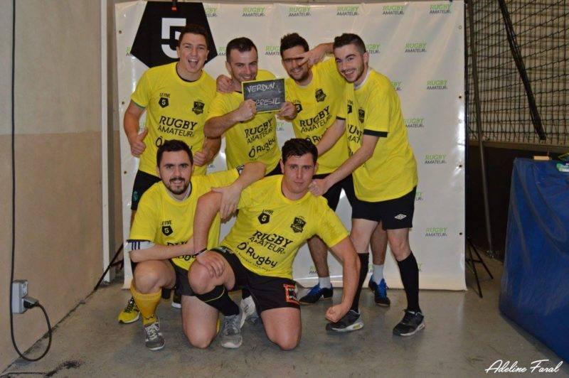 Soirée 4ème Mi temps RugbyAmateur.fr décembre 2017 Le Five Toulouse Colomiers (33)