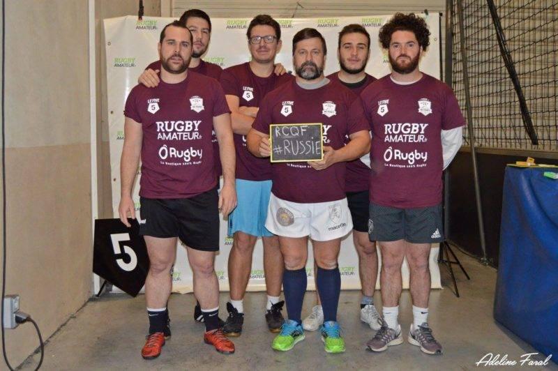 Soirée 4ème Mi temps RugbyAmateur.fr décembre 2017 Le Five Toulouse Colomiers (37)