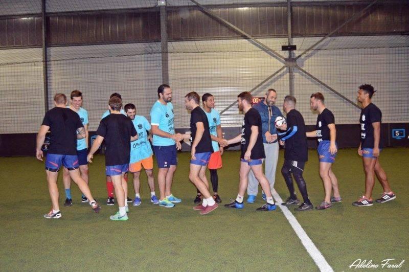 Soirée 4ème Mi temps RugbyAmateur.fr décembre 2017 Le Five Toulouse Colomiers (39)