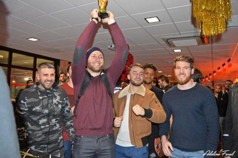 Soirée 4ème Mi temps RugbyAmateur.fr décembre 2017 Le Five Toulouse Colomiers (46)