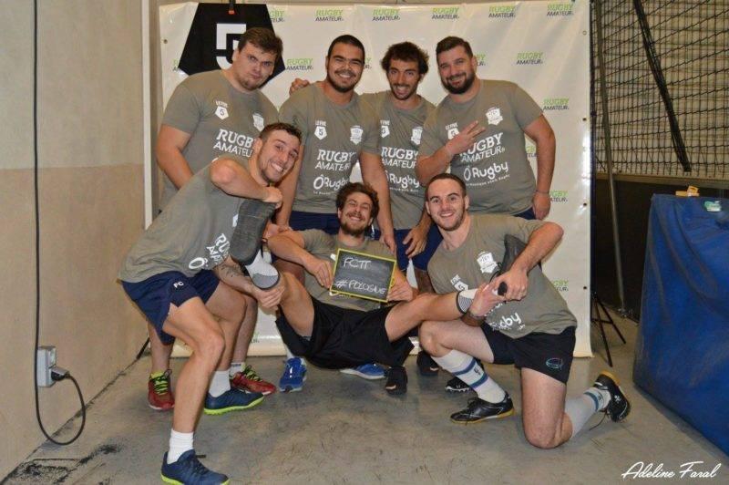 Soirée 4ème Mi temps RugbyAmateur.fr décembre 2017 Le Five Toulouse Colomiers (49)