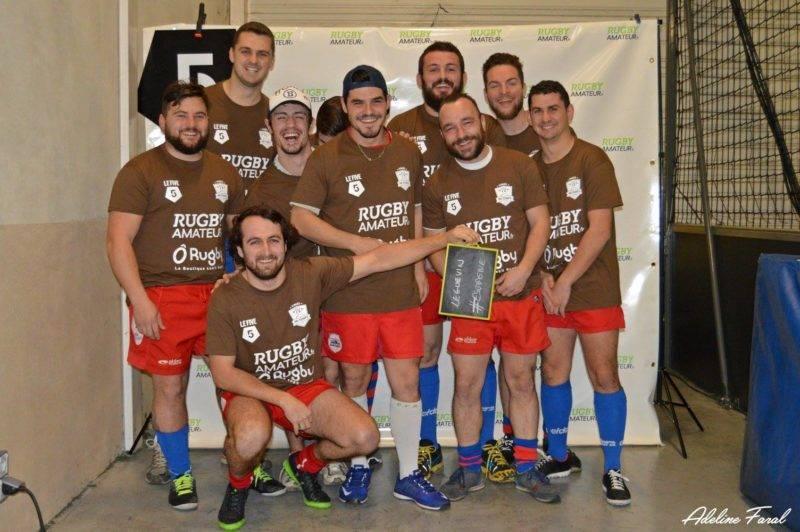 Soirée 4ème Mi temps RugbyAmateur.fr décembre 2017 Le Five Toulouse Colomiers (54)