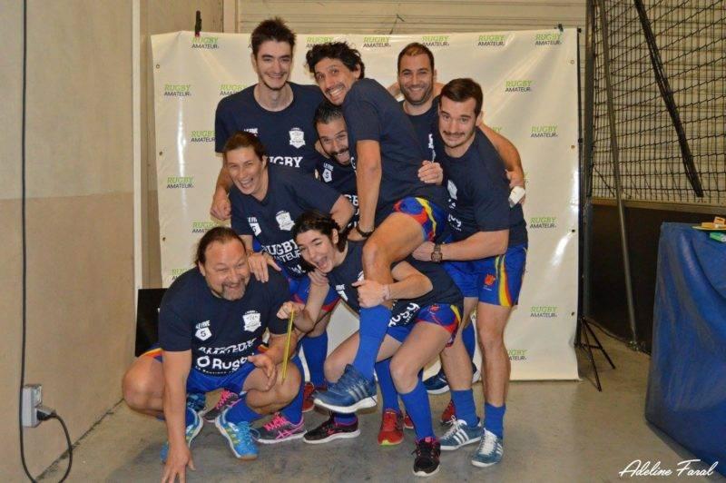 Soirée 4ème Mi temps RugbyAmateur.fr décembre 2017 Le Five Toulouse Colomiers (55)