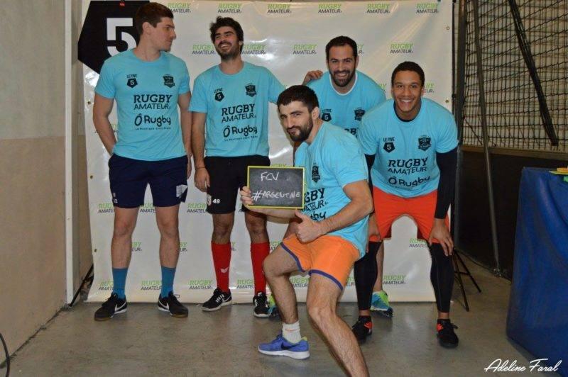 Soirée 4ème Mi temps RugbyAmateur.fr décembre 2017 Le Five Toulouse Colomiers (56)