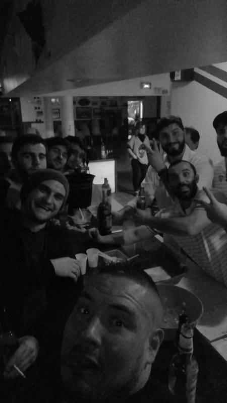 Selfie Florin Lenormand. Victoire contre saint juery portet