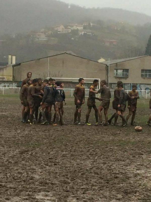 cadets teulieres A Sporting club decazeville contre Stade Rodez Aveyron Le SRA l emporte 10 à 7