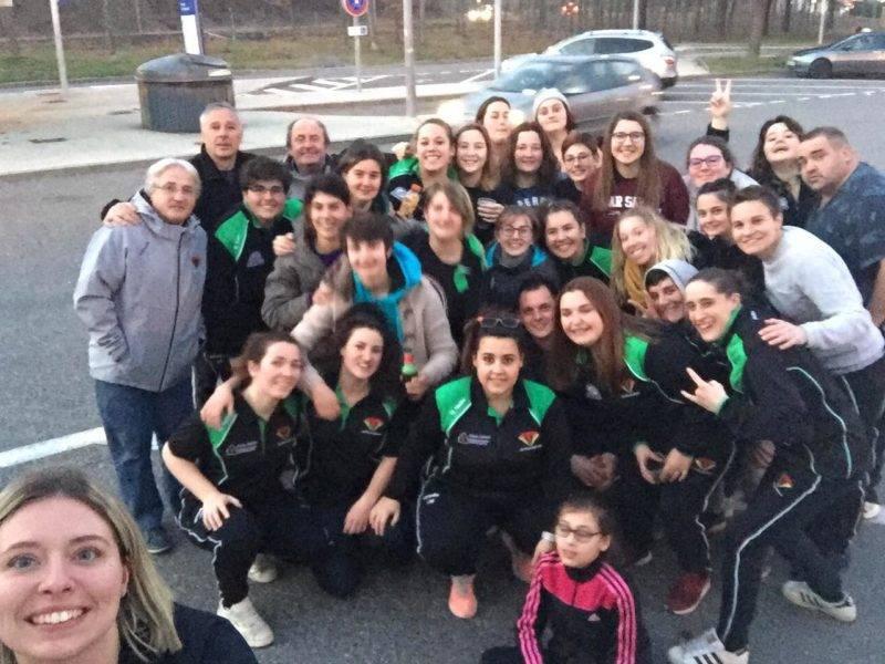Belle victoire des rambailleuses d'Ariège à Albi 41 à 5