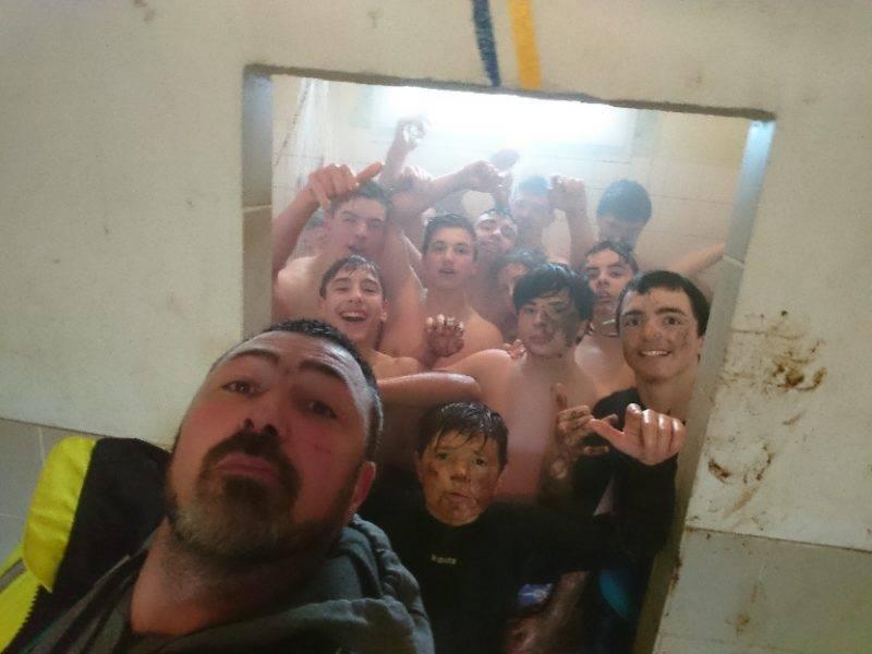petit selfie suite à la victoire de nos petits cadets territoriaux à XII de l'US Brassac Sidobre XV contre le Rst Caussade Negrepelisse
