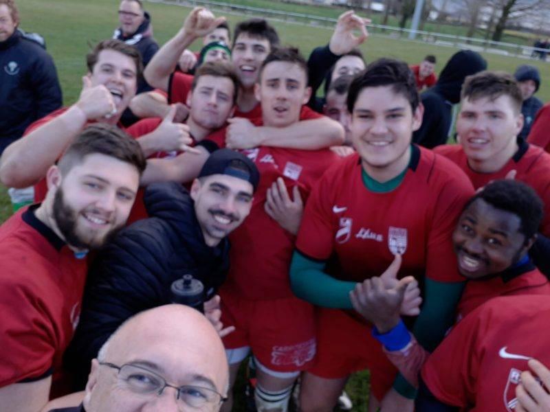 Les belascains de St Juery ont gagnés contre le Centre Aveyron avec le maillot de centre Aveyron