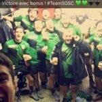 Victoire avec bonus de la réserve du Saint Girons sporting club 21 9 contre les premiers ! Invaincus en 2018