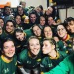 Victoire des Picholines st gely pic saint loup rugby club contre les gazelles de rives d'orb chez elle à Cessenon sur orb 8 essais à 2