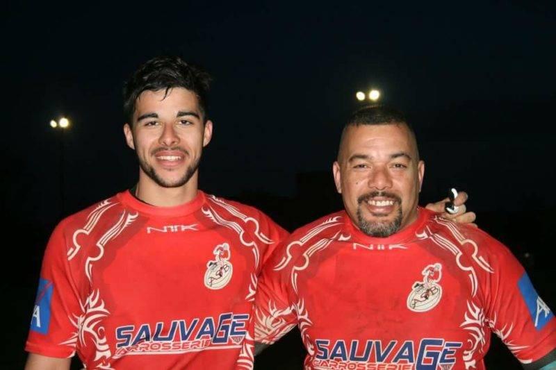 karim et Dimitri Soltane, qui ont fait leur premier match ensembles hier au club de L'ASBastidenne.