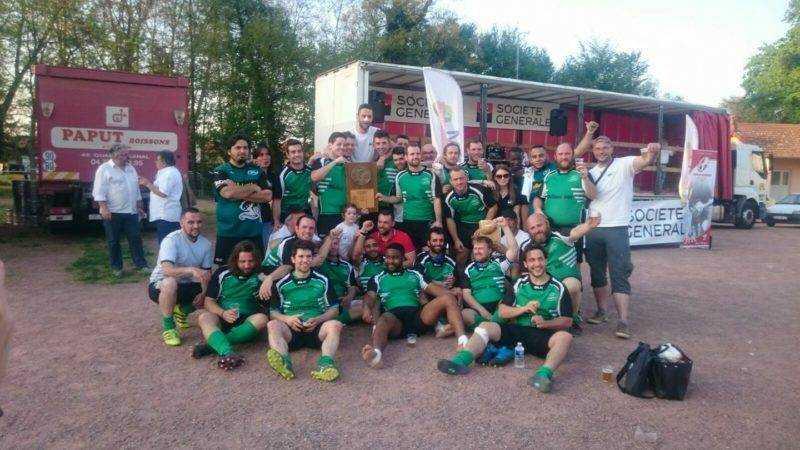 CO Saint Fons champion 4eme série du lyonnais après prolongations 27 24 contre st amour
