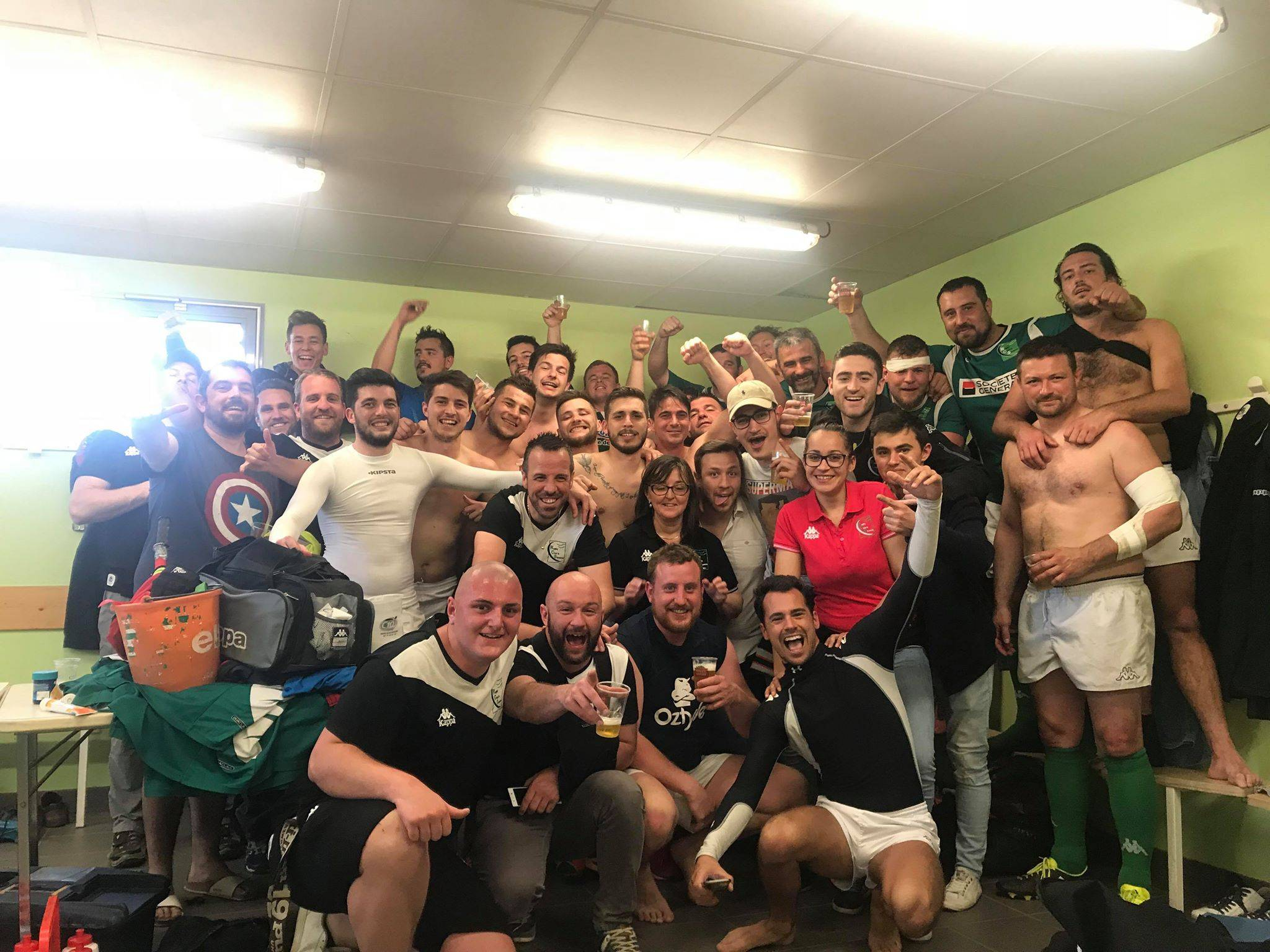 Demi finale championnat du lyonnais 2ème série Victoire contre val de Saône 20 13 on est en finale contre Saint Étienne