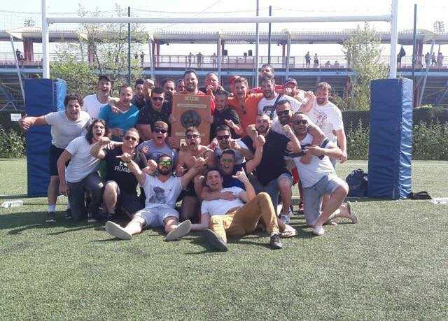 Lorgues Ovalie Var champion du comité côte d'azur 4eme série face au Rugby Saint Maximin XV 37 a 24