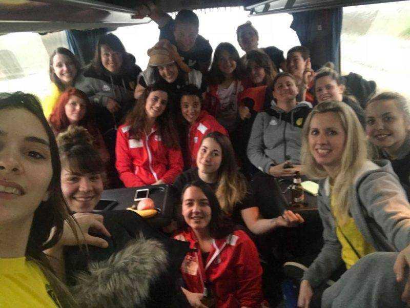 Mutualisation du bus pour Les féminines de carcassonne et de Villefranche