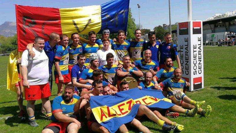 Rcvmt rugby club vif Monestier triève champion des Alpes promotion d'honneur reserve