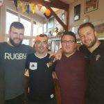 Victoire de Pont du Casse en demi finale du championnat PA orugby parrain du match
