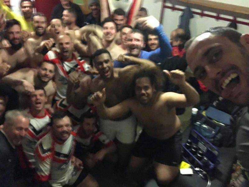 victoire du Brignemont Athletic Club en quart de challenge contre Roques 22 10