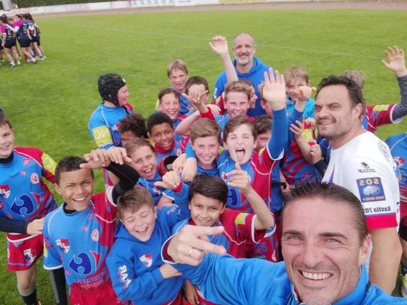 Les Moins de 12 de Saint Sulpice RCS XV vainqueur du championnat Seven pavois