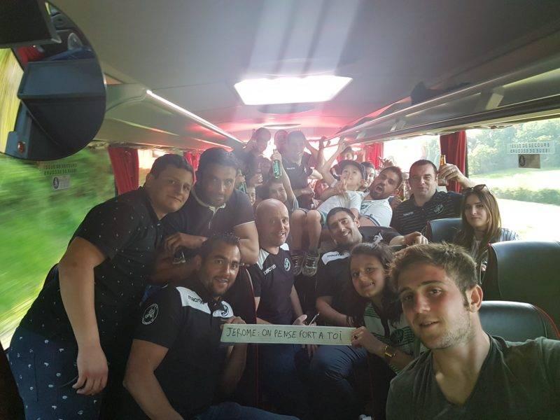 Retour de Boulogne sur gesse victoire 94 à 7 contre colayrac en route pour les 16ème