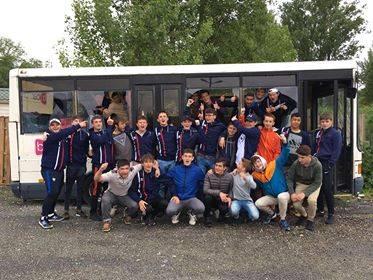 les cadets Teuliere À de lavaur et nous avons battu Toulouse montaudran en quarts de finales du championnat des Pyrénées