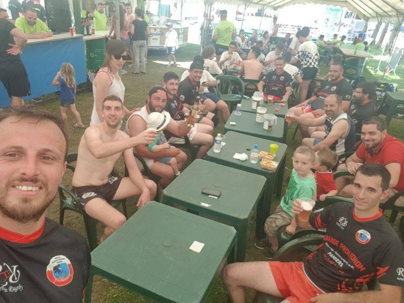 Tournoi de rugby flag à la tour du crieu 09 équipe des barbarians