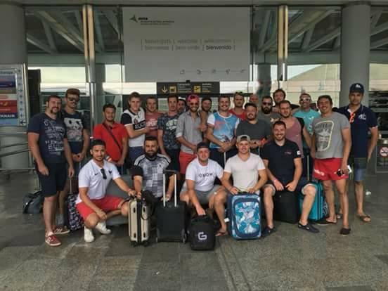 voyage de fin d'année à Palma de Mallorque RC ST Jory Bruguieres XV