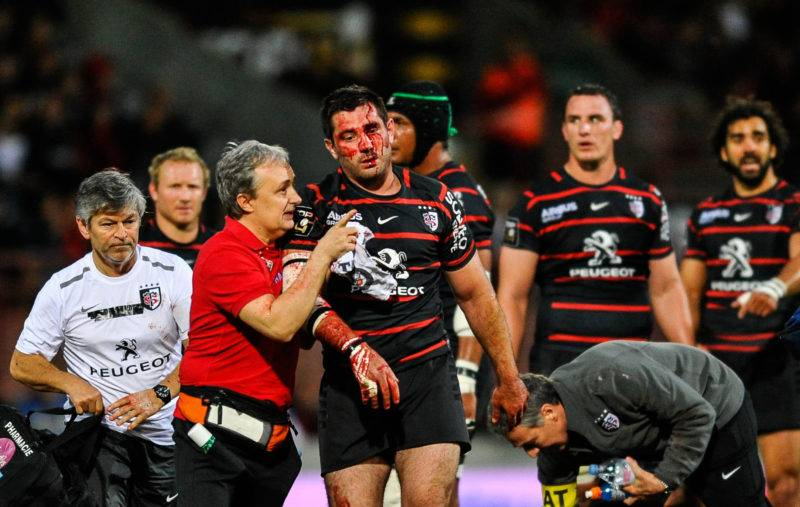 RUGBY : Toulouse vs Racing Metro92 Phase Finale de TOP14 09/05/2014