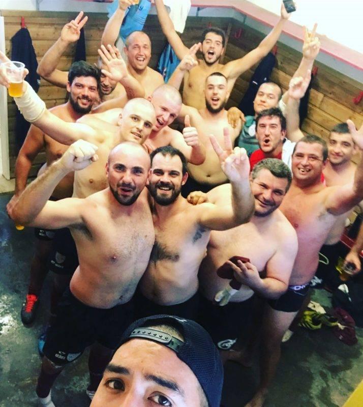 le club de Rugby Canton de Puy l'Évêque nous avons joué contre brignemont AC victoire pour noir nous 17 0