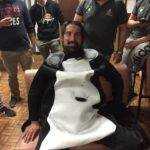 Au Rugby Club du Rougier (RCR) le Cagolin de ce week end a le droit à la tondeuse