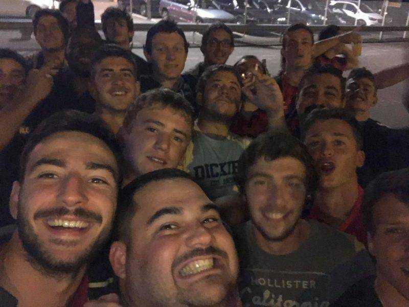Rugby club du pays de saint yrieix en déplacement à Bourges à gagné en premier 27 à 15