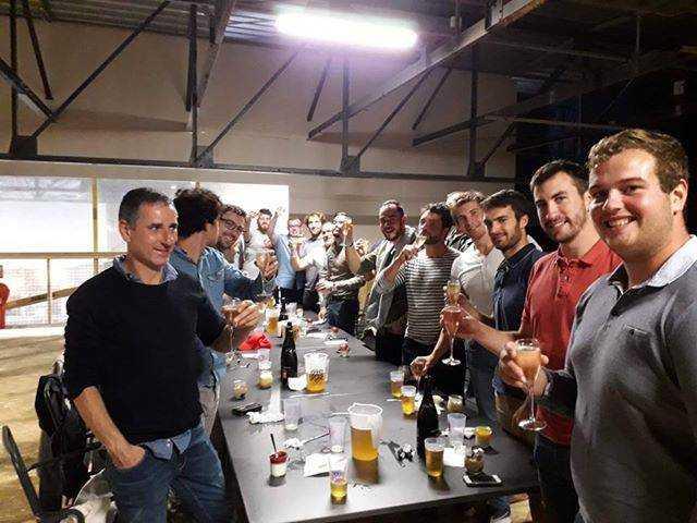 anjou killers club loisirs proche d'Angers a organisé un we d'intégration