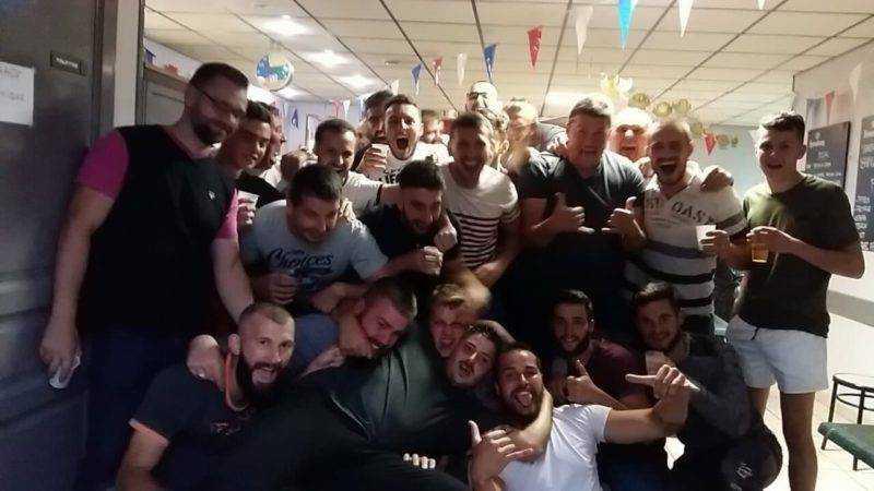thore rugby club) et après 2 défaite consécutive on a réussi à gagner le match a la maison contre lavernose lacasse 35 à 15 et l esprit d équipe était au pouvoir