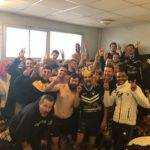 Victoire de l'équipe réserve de l'US Vielmur au tac selfie venin