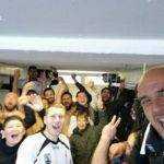 le selfie de la réserve de L'union Rugby