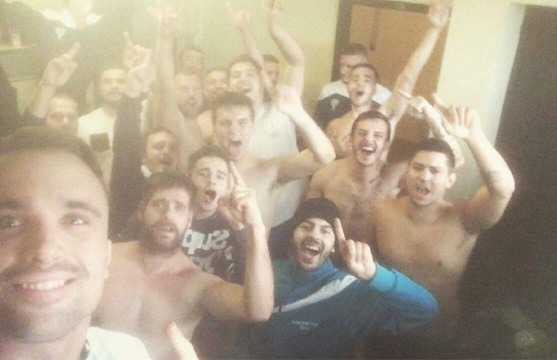 1er de poule pour la réserve de Moissac Derby gagné 26 0 contre Bressols