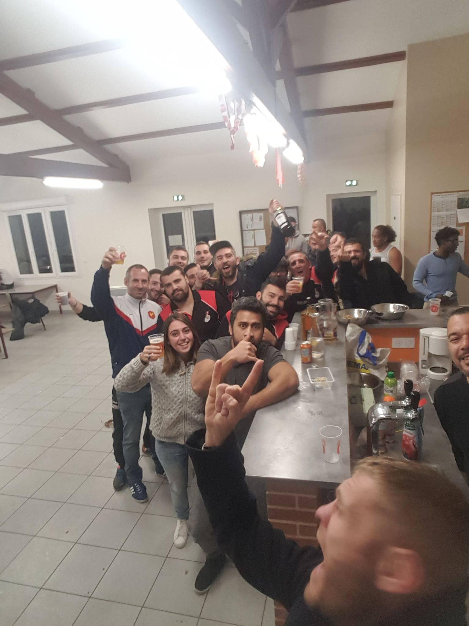 Victoire de la B de Lauzerte à Maurs 82 0