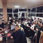 Les joueurs de l'USP XV profitent de ce week end de repos pour organiser leur repas de fin d'année