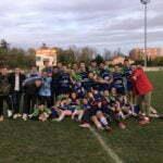 juniors du FCTT apres leurs victoires 58 0 sur l'entente Vallée du Girou L'union