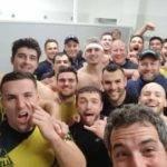 Le selfie a l'extérieur de la B d'agde Les Hommes de Morgan Champier s'imposent à Leucate et ramènent 4 points dans la soute Allez la CHOUNE