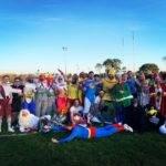 Victoire à l'extérieur Carnaval béarnais ! Bénejacq olympique