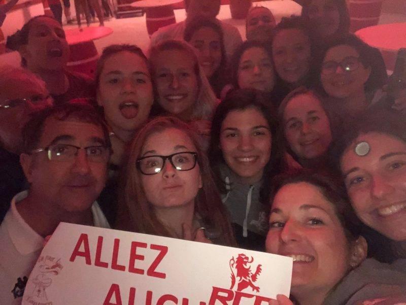 Défait pour les féminines d'auch contre Castelnau magnoac 3ème mi temps partagée avec les garçons